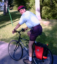 Bicycling on the Toronto Islands